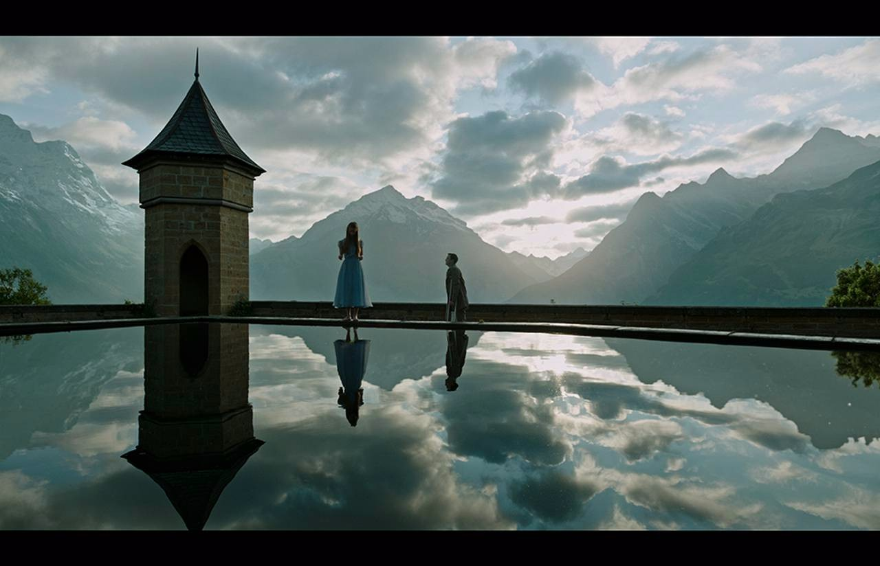 Hannah and the most beautiful shot in the entire film.