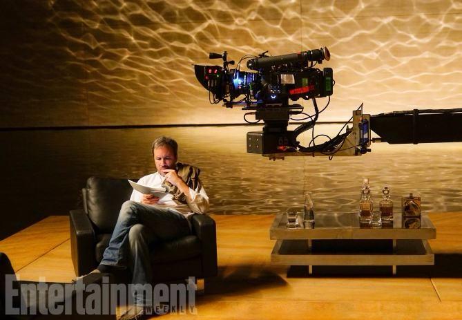 Blade Runner 2049 (2017) Director Denis Villeneuve on the set.