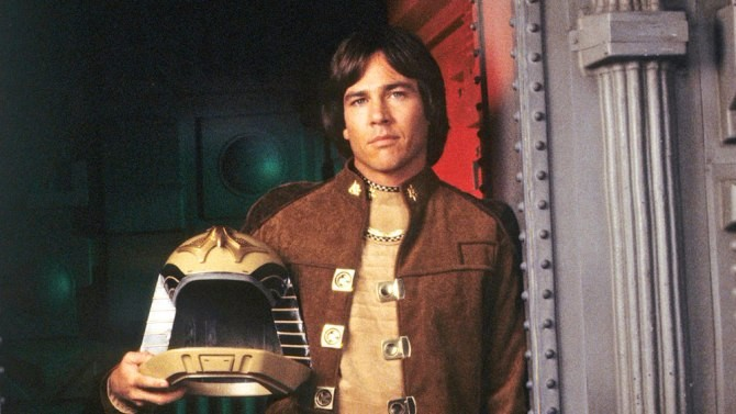 """BATTLESTAR GALACTICA - Pilot: """"Earth Star"""" - Airdate: July 7, 1978. (Photo by ABC Photo Archives/ABC via Getty Images) RICHARD HATCH"""