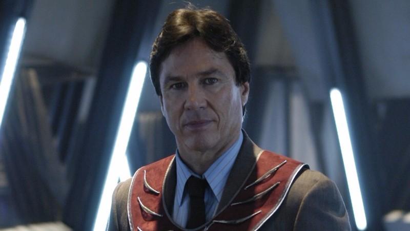 Richard as Tom Zarek in the reimagined BSG series