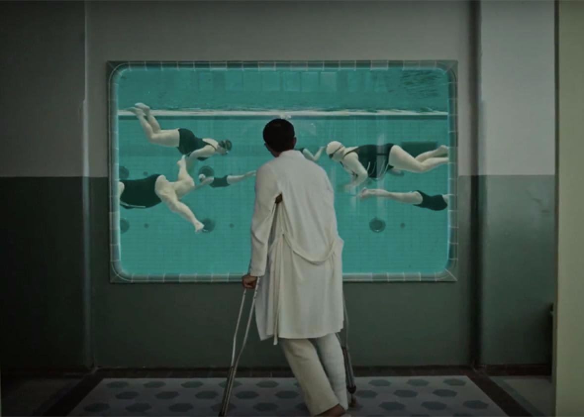 Enjoy some aquatic aerobics