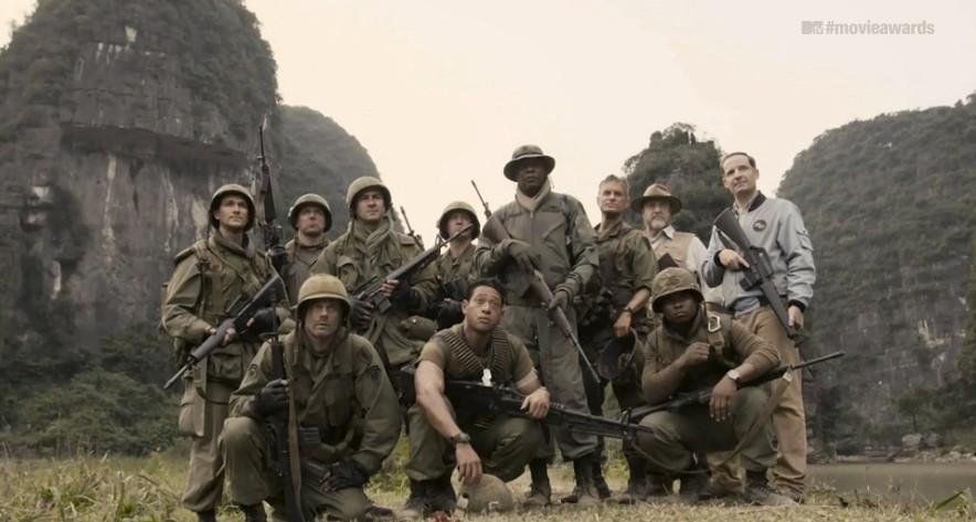 Samuel L. Jackson's troop of soldiers