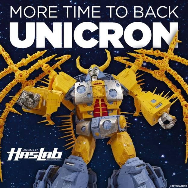 Unicron Deadline